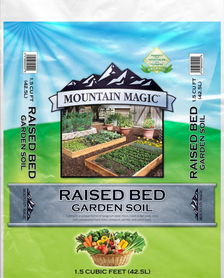 Raised Bed Garden Soil (box garden mix)