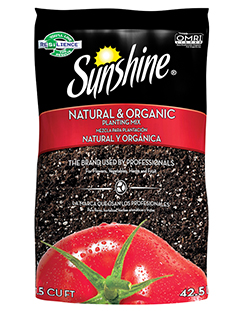 Sunshine® Natural & Organic Potting Soil